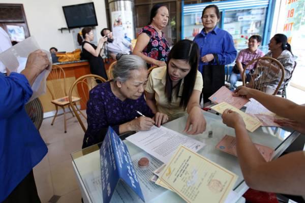 Quyền lợi và hồ sơ hưởng bảo hiểm xã hội tự nguyện