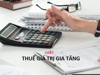 Luật thuế giá trị gia tăng