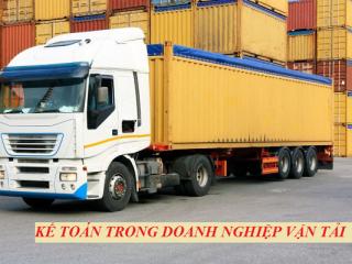 Tổng hợp các công việc của kế toán doanh nghiệp vận tải