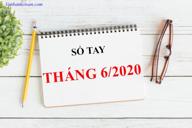 Những công việc doanh nghiệp cần làm trong tháng 6/2020
