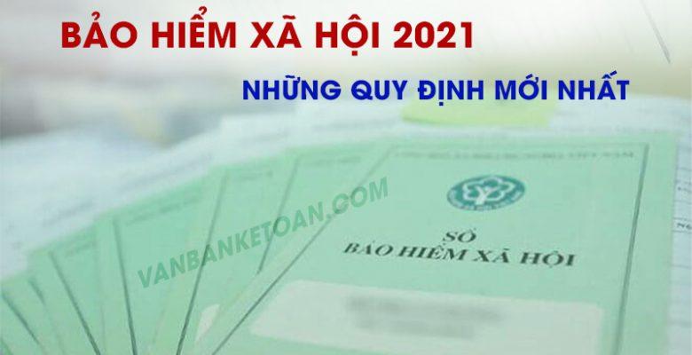 Bảo hiểm xã hội năm 2021