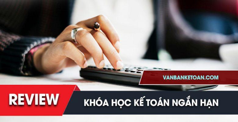 Review khóa học kế toán ngắn hạn tại TPHCM